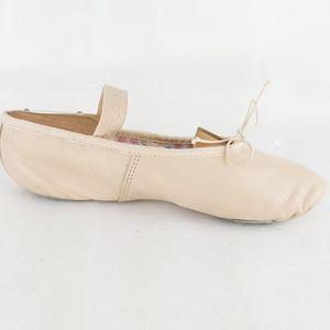 Capezio Ballet pink leather dance slipper shoes